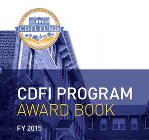 CDFI Fund Announces FY 2015 CDFI Program Awards